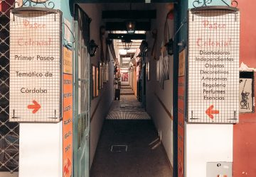 Cordoba Travel Guide: city store fronts
